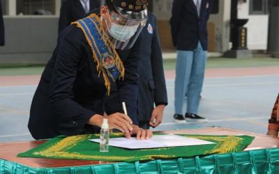 Pelantikan OSIS SMAN 2 Yogyakarta masa jabatan 2020/2021