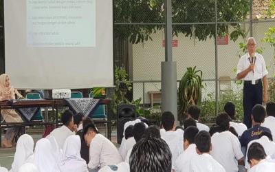 Sosialisasi Virus Covid-19 oleh Dinas Kesehatan Kota Yogyakarta