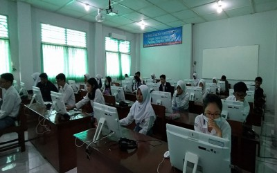 SMA N 2 Yogyakarta Laksanakan Try Out UNBK 2020