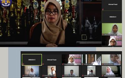 Kegiatan MPLS SMA Negeri 2 Yogyakarta Berlangsung dengan Sistem Daring