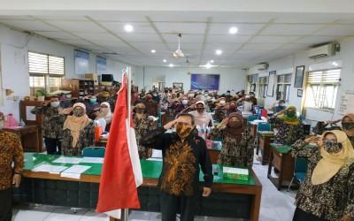 SMA Negeri 2 Yogyakarta Peringati Hari Kesaktian Pancasila